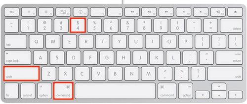 苹果Mac系统截图快捷键