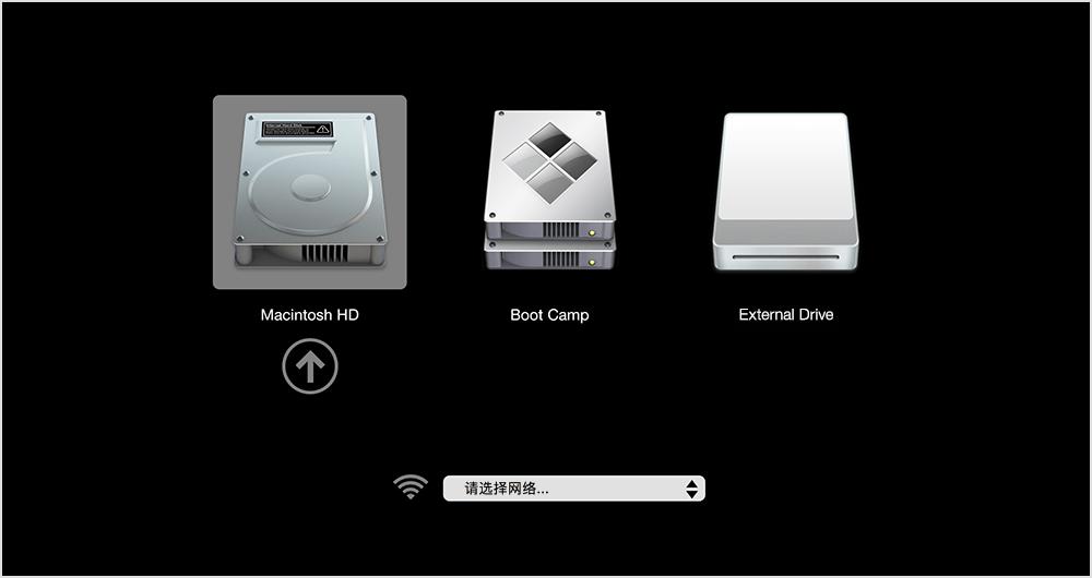 苹果Mac如何切换双系统?
